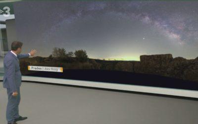 Cometa Neowise i Via Làctia sobre Prades – TN Migdia TV3