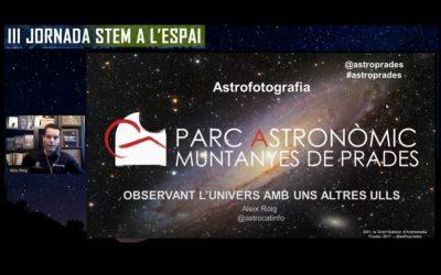 Abrimos la III Jornada STEM a l'espai