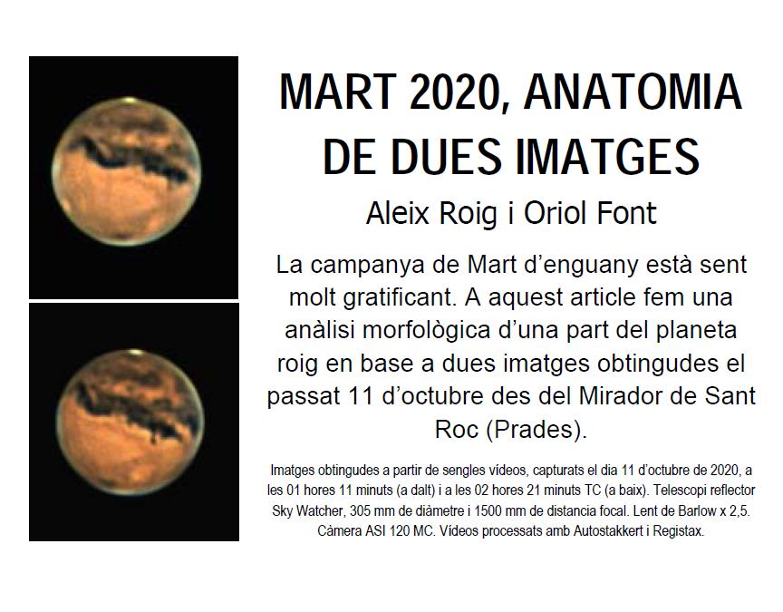 MART 2020, ANATOMIA DE DUES IMATGES (Aleix Roig i Oriol Font)
